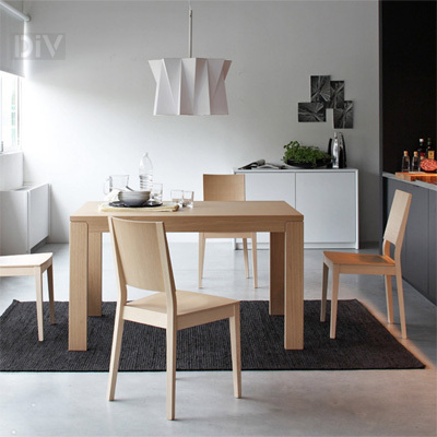 Vero Lr Extendable Dining Table Dining Tables Dining Calligaris Modern Furniture