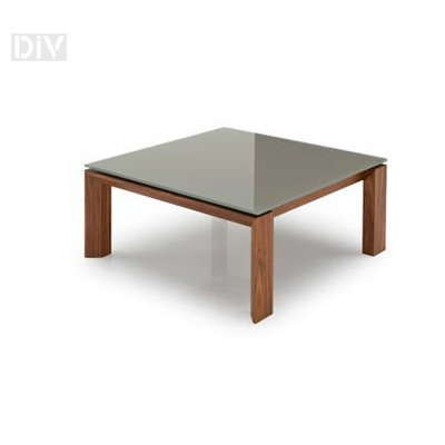Omnia glass coffee table coffee tables living for Calligaris omnia glass