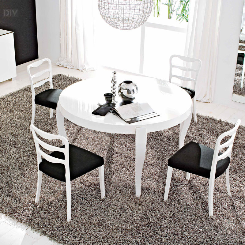 Regency Round Dining Table Dining Tables Dining  Calligaris - Calligaris dining table