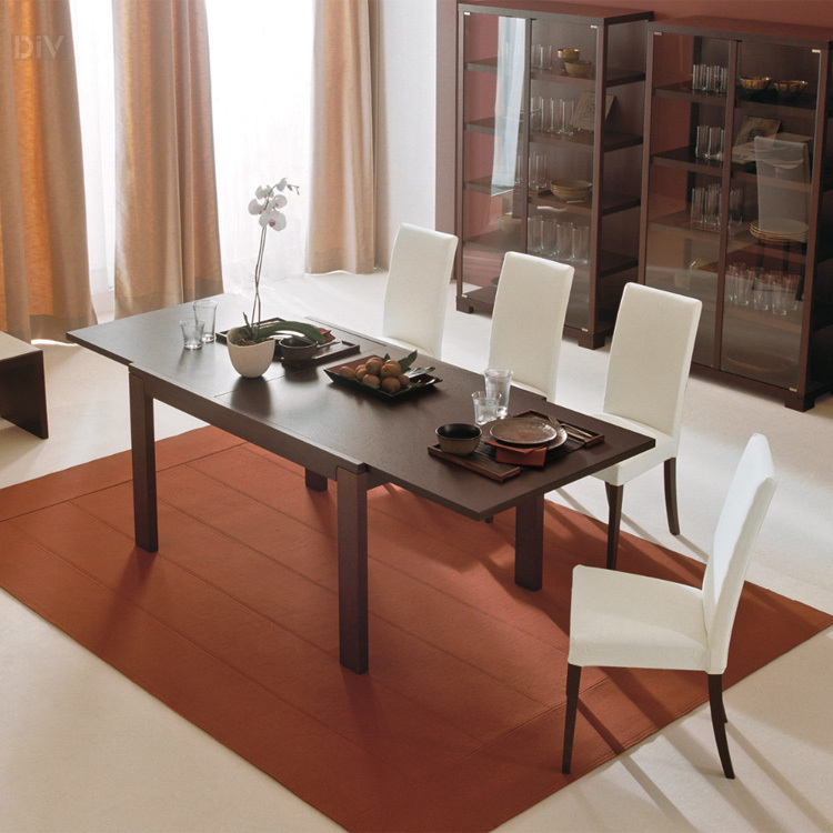 Vero lr extendable dining table dining tables dining for Best extendable dining table