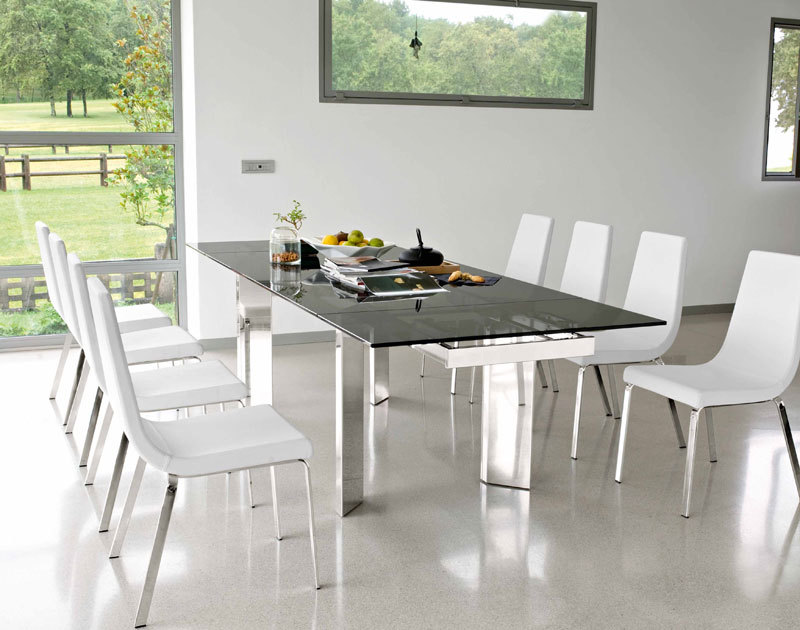 Tower Extendable Dining Table. Dining Tables. Dining : Calligaris ...