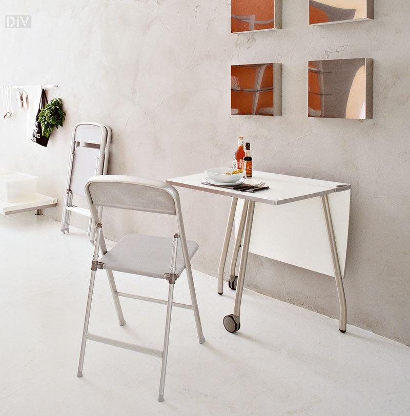 olivia fast folding table folding tables spacesavers calligaris modern furniture. Black Bedroom Furniture Sets. Home Design Ideas