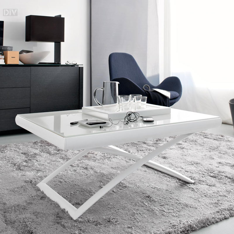 Dakota Folding Table Coffee Tables Living Calligaris