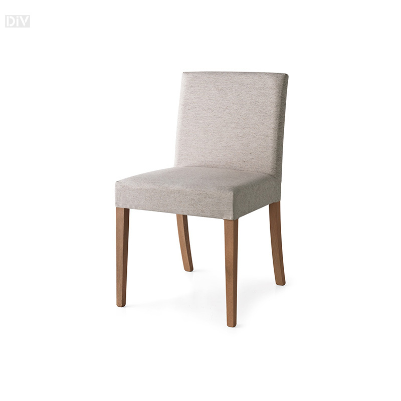 Latina Low Chair With Walnut Frame And Cord Seat