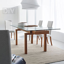 Dining Tables. Hyper Extendable Dining Table