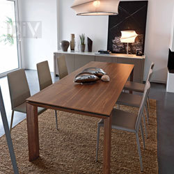 Dining Tables. Omnia Wood 180 Extendable Dining Table