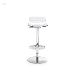 Bar and Counter Stools. L'eau Adjustable Stool