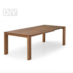 Dining Tables. Sigma Wood Extendable Dining Table