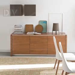 Buffets & Sideboards. Mag Sideboard 6029-1A L with wooden top
