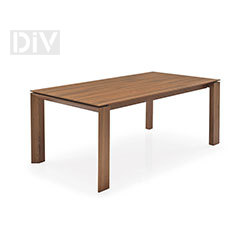 Dining Tables. Omnia Wood 160 Extendable Dining Table